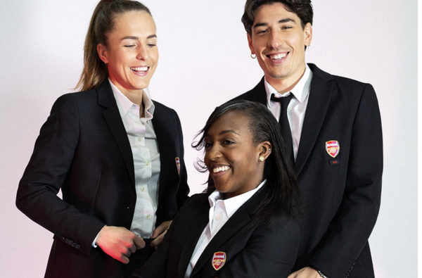 Arsenal Women Will Wear Héctor Bellerín-Designed 424 Suits Ahead of League Cup Final