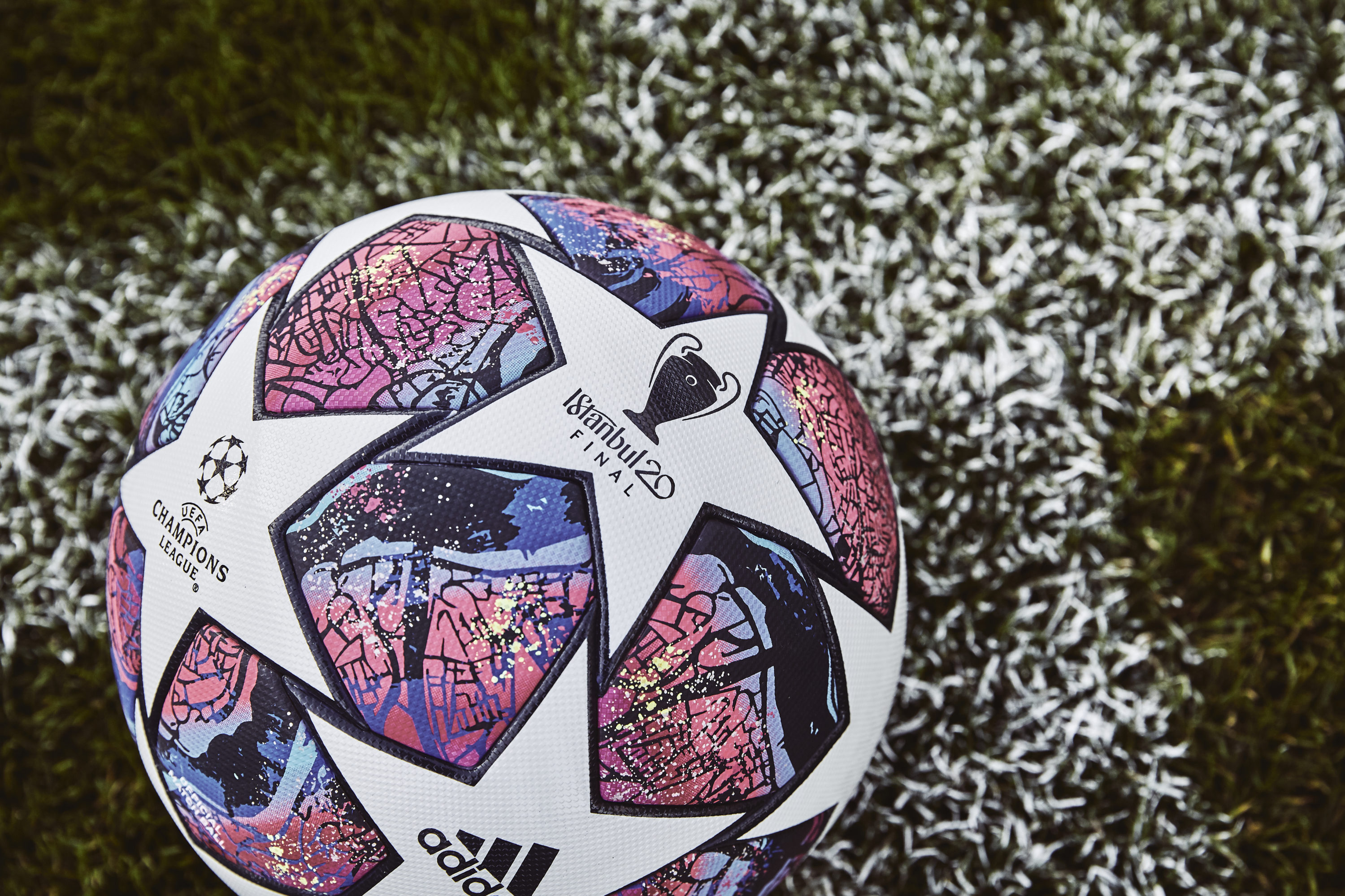 adidas reveals official match ball for uefa champions league 2020 knockout stages uefa champions league 2020 knockout stages