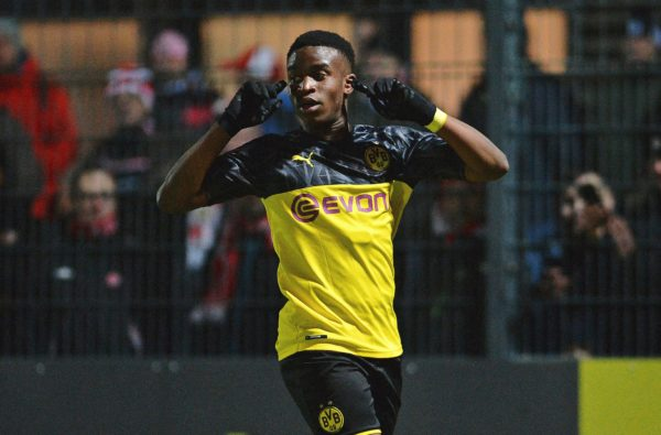 15-Year-Old Youssoufa Moukoko Just Got Called Up for Germany's U19 Team