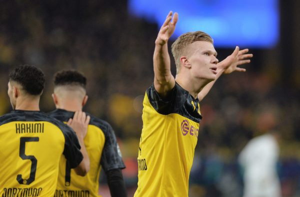 Erling Haaland Hit Another Record-Breaking Performance for Borussia Dortmund Against PSG