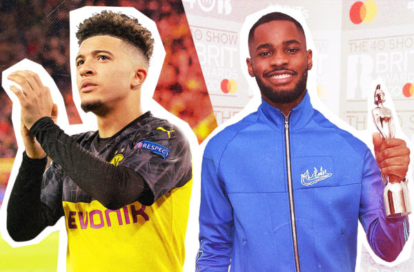 Jadon Sancho and Dave Are South London Prodigies Taking Over the World Side-By-Side
