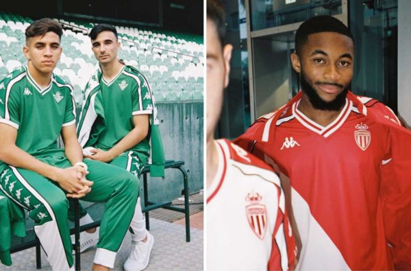 Kappa Drops Wavey Kombat XX Collections for AS Monaco and Real Betis