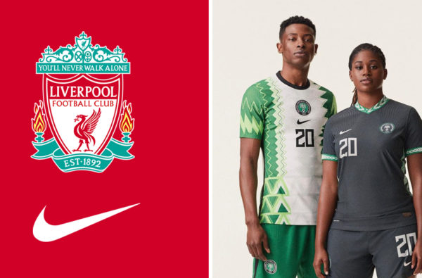 Nike Confirm Their First Kit With Liverpool Will Be a Customised Design Like Nigeria's Jersey