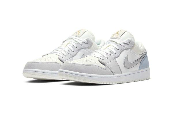 """Nike Set to Drop Off Ultra-Clean Air Jordan 1 Low """"Paris"""""""