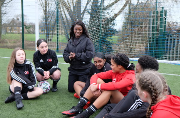 adidas Link Up With Football Charity Goals 4 Girls on International Women's Day