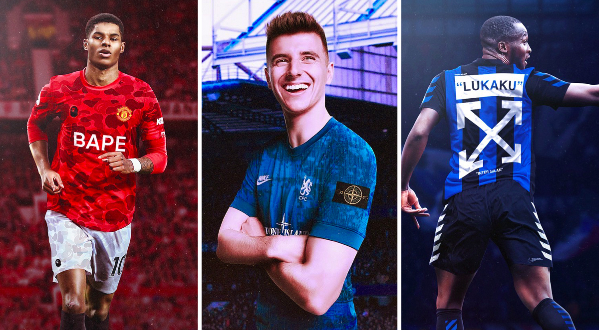 10 Football x Fashion Collaborations We Would Love to See in 2020