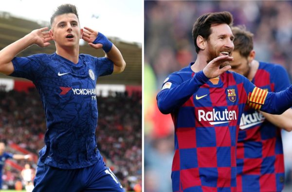 "Lionel Messi Says Mason Mount Has the Potential to Be ""One of the Best"""