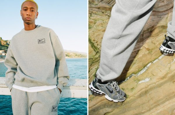 Nike and Stussy Join Forces on Clean Spiridon Caged 2 Sneaker Capsule