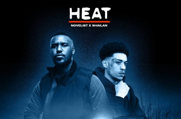 Novelist and Shailan Link Up For Fire New EP, 'HEAT'