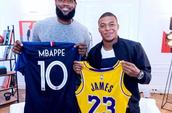 Kylian Mbappé is Cooking Up a Clothing Capsule with LeBron James for 2021