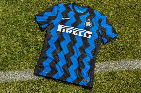 Nike Bless Inter Milan With a Wavey, Zig-Zagged Home Kit for 2020-21