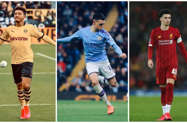 Jadon Sancho, Phil Foden and Curtis Jones Make Shortlist For The Golden Boy Award