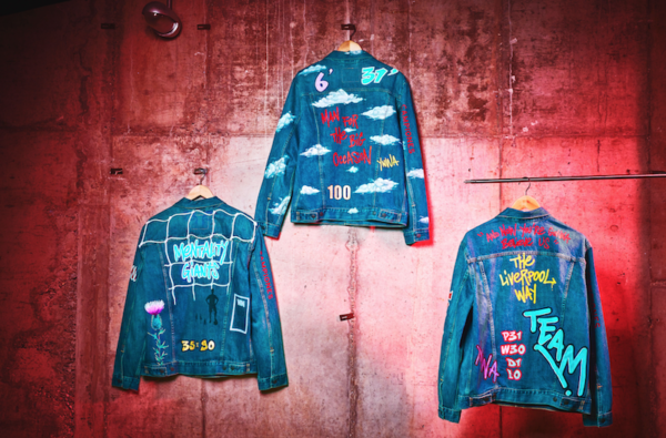 Levi's Celebrate Liverpool's Premier League Win With New Jacket Collab With Street Artist Akse