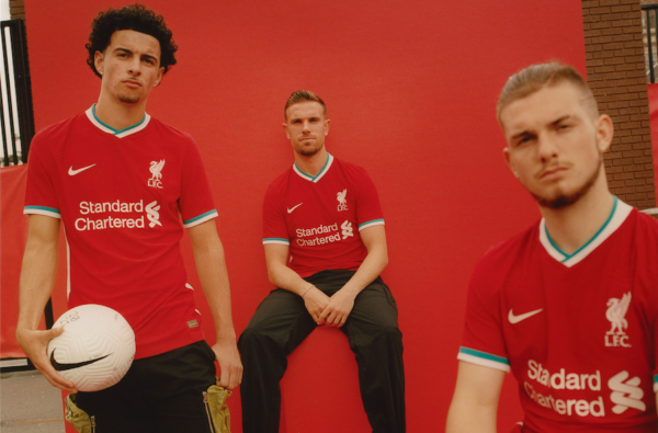 Nike and Liverpool Kick Off a New Era with a Fire Home Kit for 20/21