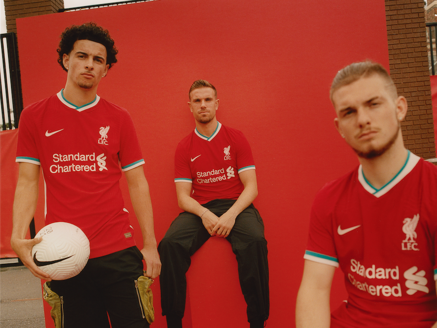 Nike And Liverpool Kick Off A New Era With A Fire Home Kit For 20 21