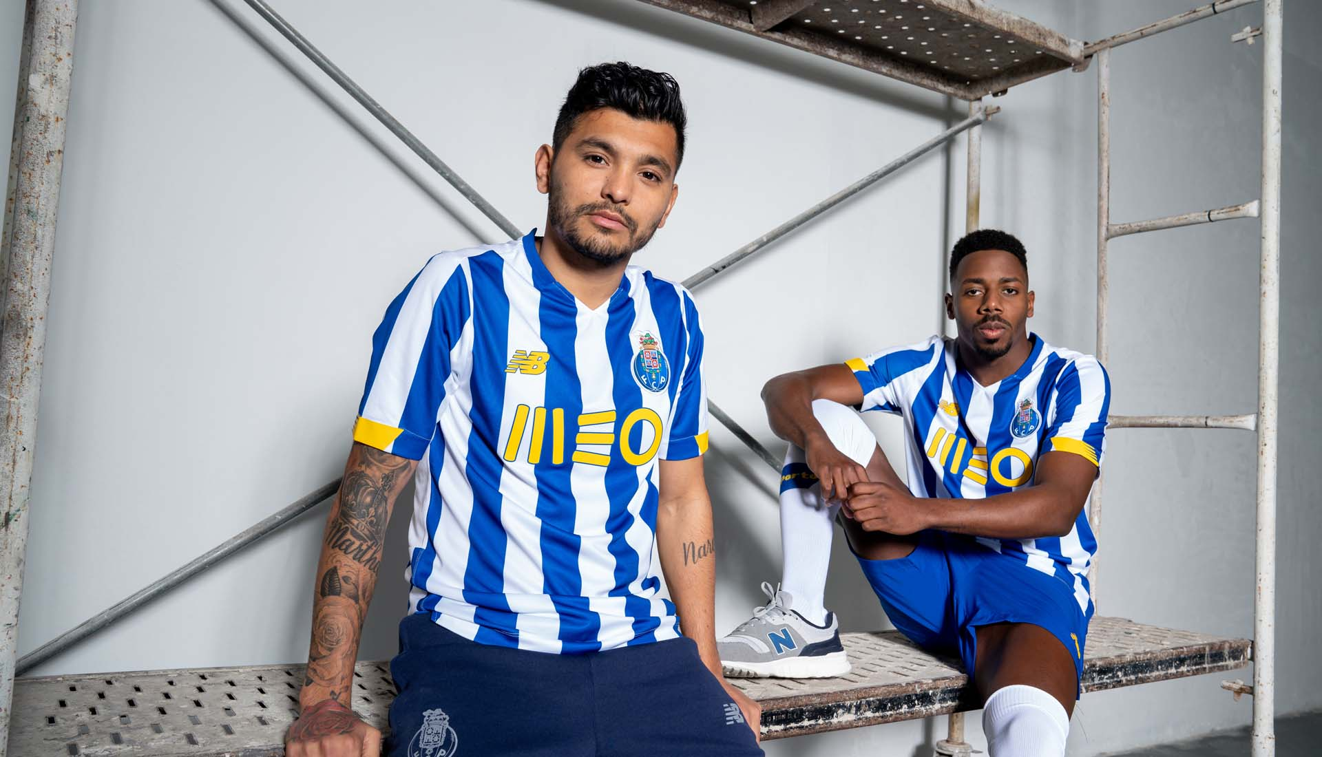New Balance Drop Clean New 20/21 Home Shirt for FC Porto