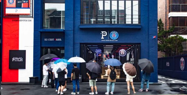 PSG Become First European Club to Open up a Lifestyle Store in Korea