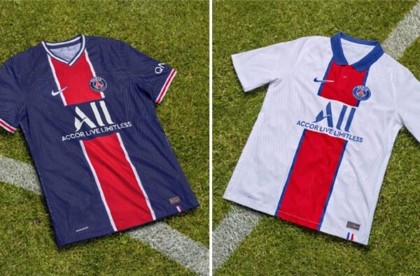 Nike and PSG Drop Off Two Hard Home and Away Kits for 20/21