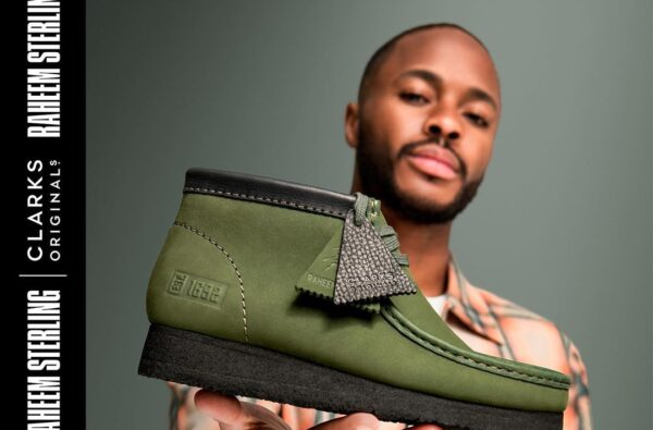 Raheem Sterling Unveils His Very Own Clarks Wallabee Silhouette