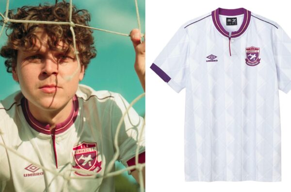 Kamakaze Links Up with Umbro for Wavey Limited-Edition Collab Shirt