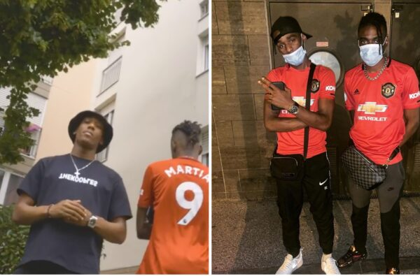 Anthony Martial Features in New Freestyle Video from French Rapper Gambino (LA MG)
