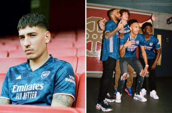 adidas Unveil Arsenal's Wavey Tie Dye Third Jersey for 2020/21