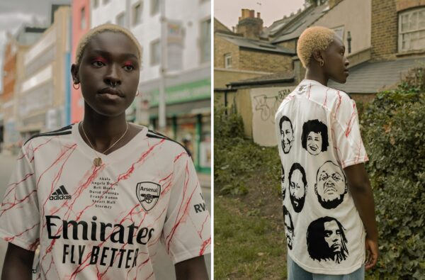 Sirens FC, Out of Office and Martyn Ewoma Combine to Drop a One-of-One Arsenal Kit Celebrating Black Educators