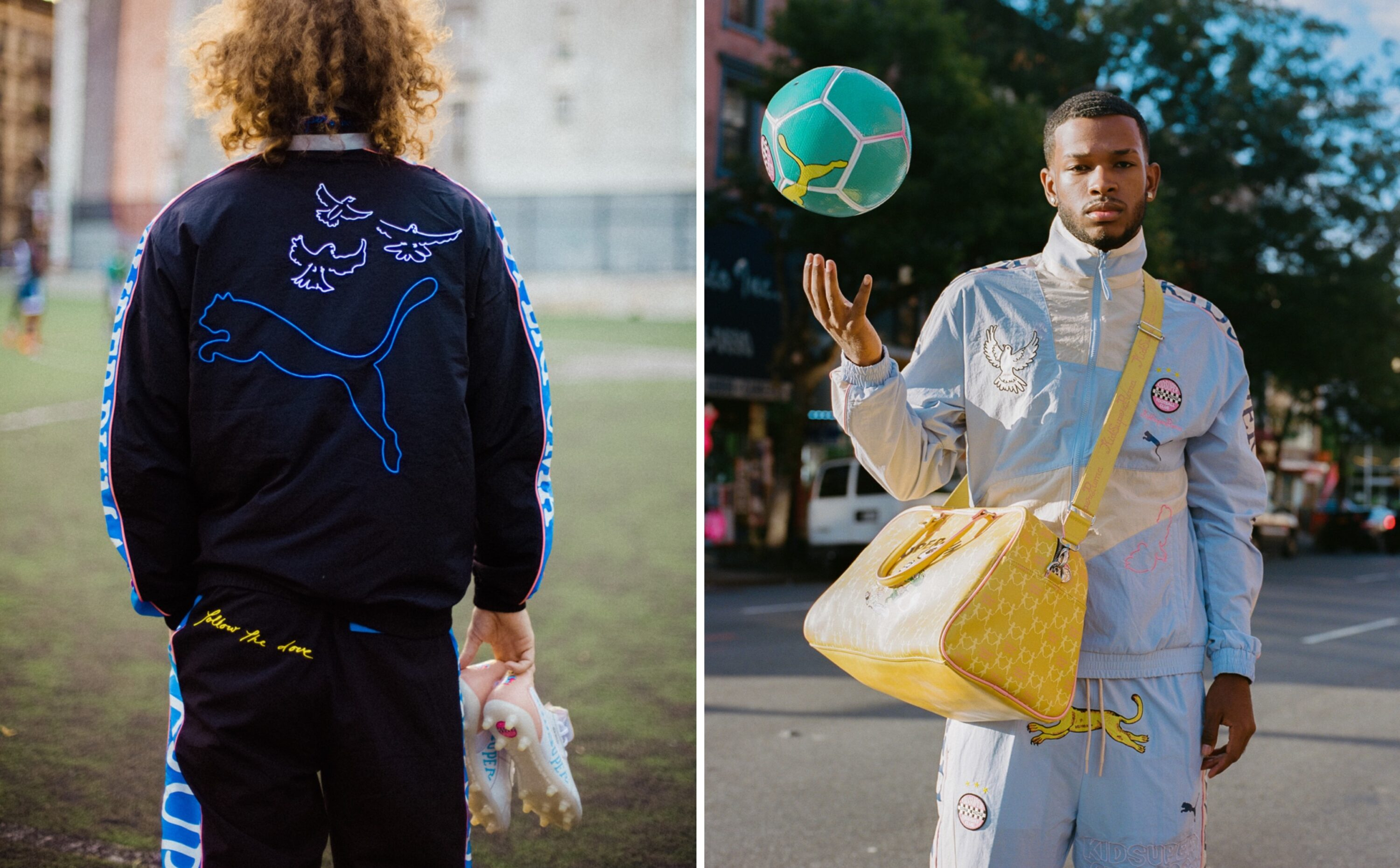 Poet & Vuj Unveil the New Limited-Edition PUMA x KidSuper Collection with Designer Colm Dillane