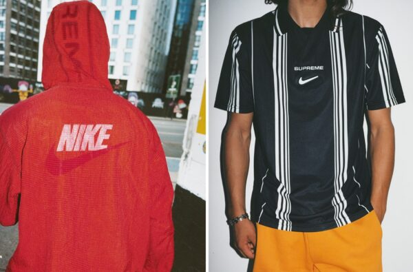 Nike and Supreme Link Up for Three Fire Football Shirts as Part of FW 2020 Collection