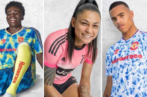 adidas and Pharrell Williams Unite to Drop Wavey Jersey Collection Based on Iconic Club Kits