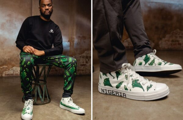 Converse Reference Nigeria's New Football Shirt on Naija Chuck 70 Model