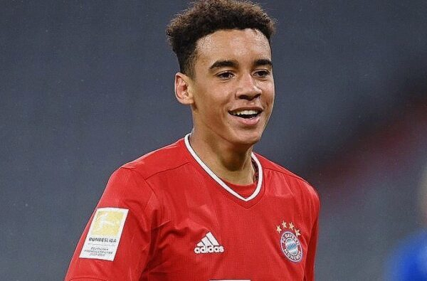 Bayern Munich's 17-Year-Old Talent Jamal Musiala Gets His First Call Up for England's U21 Squad