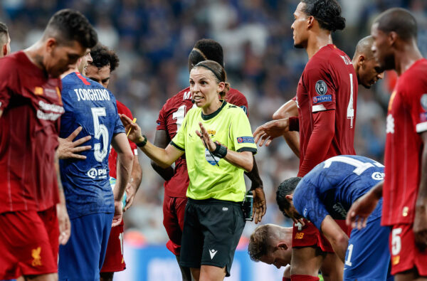 Stéphanie Frappart Announced as the First Woman in History to Officiate a Men's Champions League Match