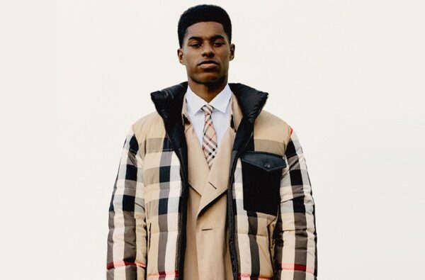 Marcus Rashford MBE Links Up with Burberry for his Debut Fashion Campaign