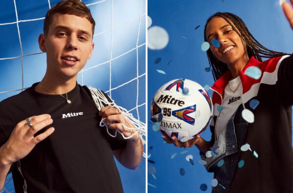 Mitre Drops a Wavey New Collection Inspired by One of the Game's Most Iconic Match Balls