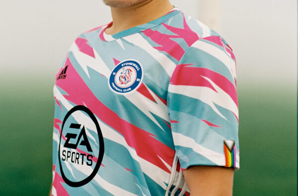 Stonewall FC and adidas Launch Jersey In Support of Trans Lives for Rainbow Laces Day