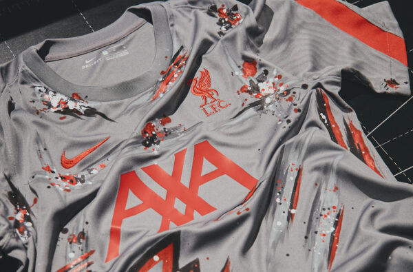 Nike Link Up with Football-Inspired Artist HARD to Design Custom Liverpool Training Jersey