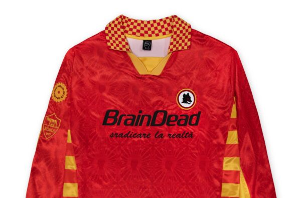 Brain Dead Link Up with AS Roma to Drop Limited-Edition 20/21 Fourth Shirt