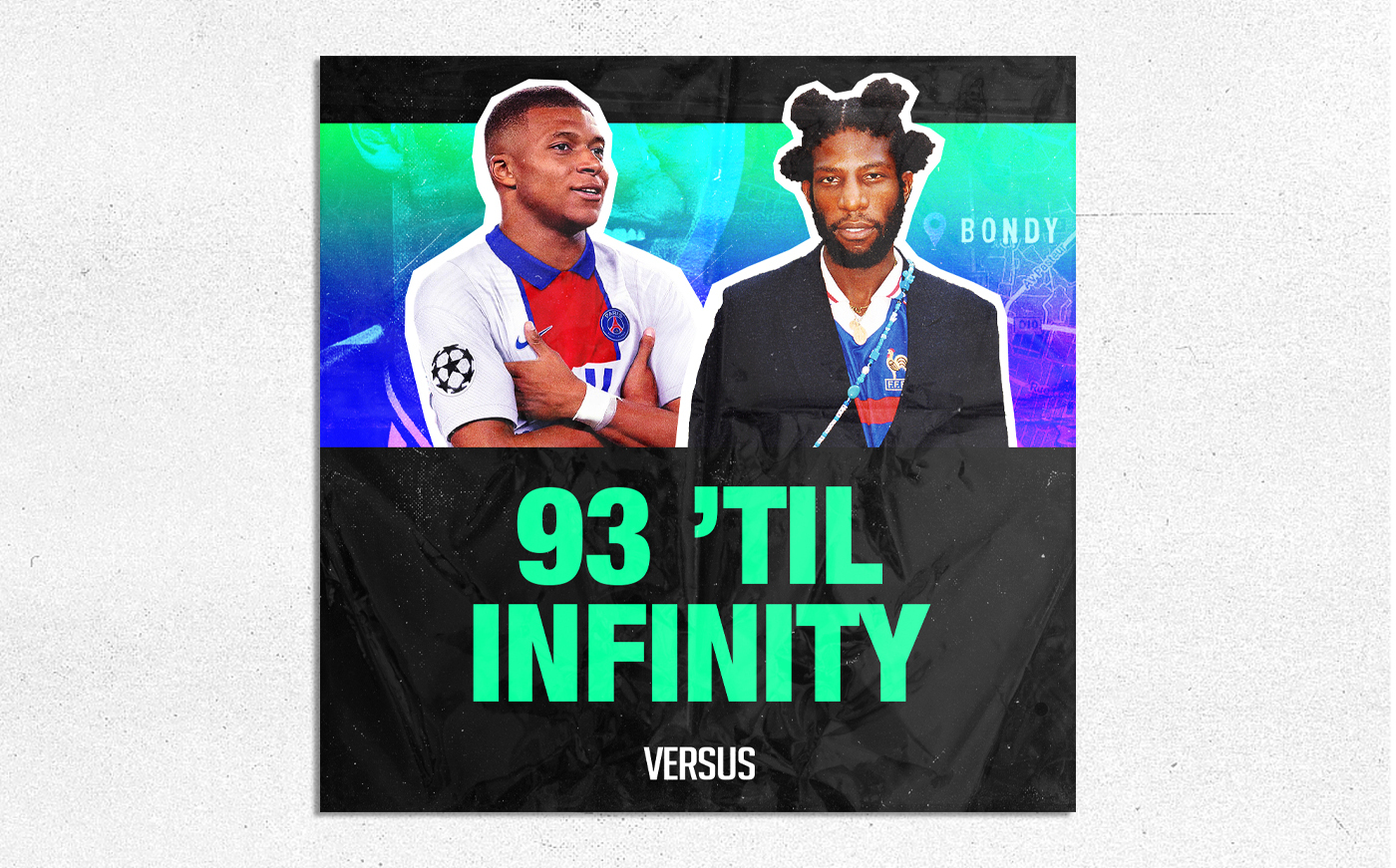 """93 'Til Infinity"" is a Playlist Celebrating the Creative Energy of Kylian Mbappé's Hometown and France's Football Scene"