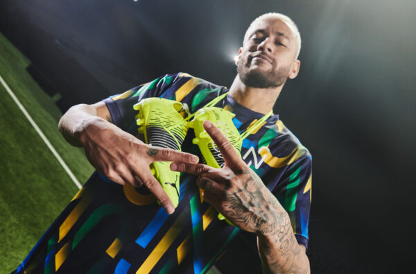 PUMA Launch The Future Z 'Game On' Football Boot with Neymar Jr.
