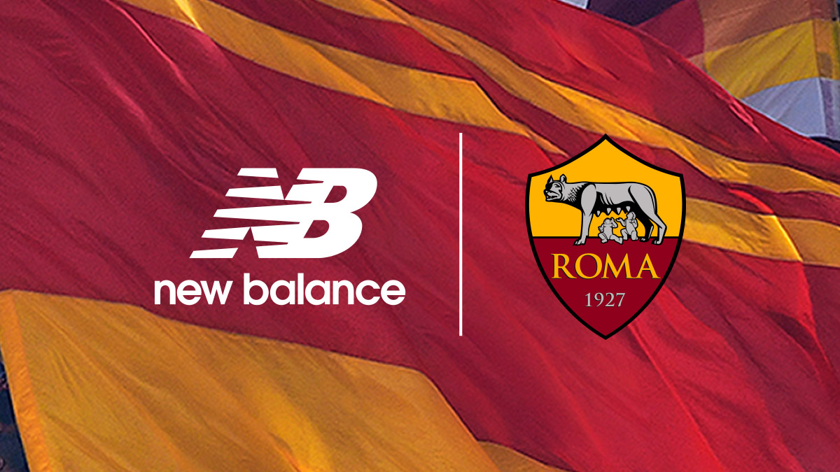 AS Roma Officially Sign Multi-Year Deal with New Balance from 2021-22