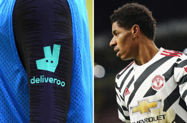 Marcus Rashford Will Challenge Deliveroo on Paying Riders Less Than Minimum Wage