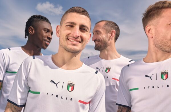 PUMA Switch Up Their Design Template for Italy's 2021 Away Kit