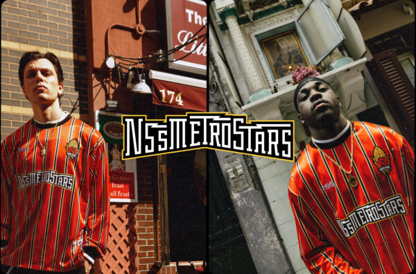 nss Magazine's New 'Metrostars' Jersey Fuses New York and Naples Culture Together