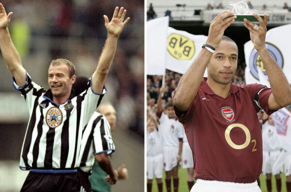 Alan Shearer and Thierry Henry Are the First Inductees to the Premier League Hall of Fame
