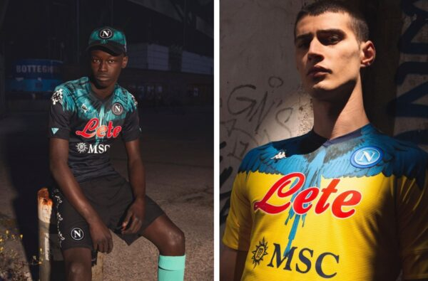 Napoli and Marcelo Burlon Link Up for Wavey Kappa Kombat Pro Jerseys
