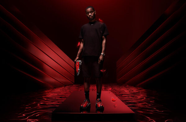 Dave Officially Unveils Nike and Skepta's Bloody Chrome 'Phantom SK' Football Boot
