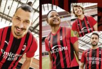 PUMA and AC Milan's New 2021-22 Home Jersey Channels 'The Milan State of Mind'