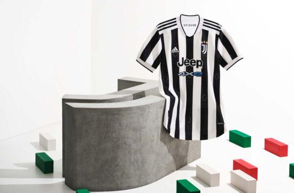 adidas and Juventus' 2021/22 Home Kit Celebrates 10 Years of the Allianz Stadium