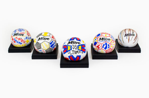 Art of Football Join Forces With Mitre to Create Bespoke Footballs in Support of Football Beyond Borders